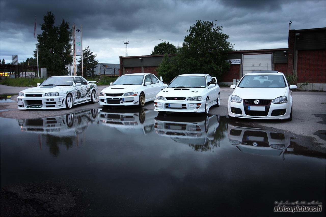 White car photoshoot part1