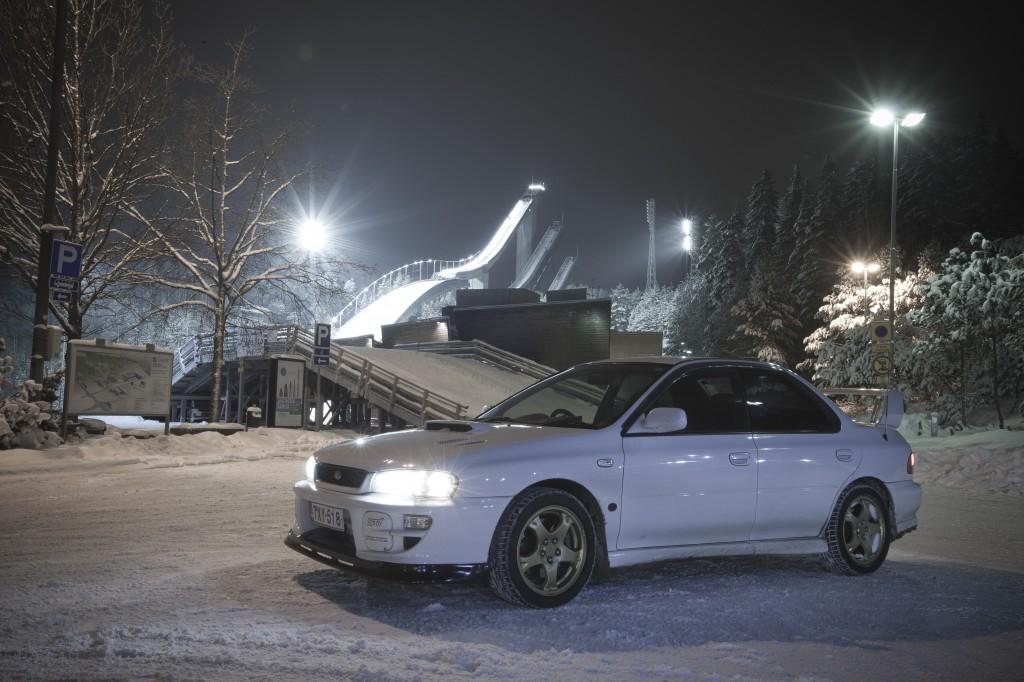 Subaru sti v5